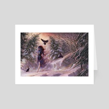Winter Twilight - Art Card by Isis Sousa
