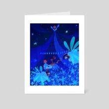 Lullaby - Art Card by Lukrecia