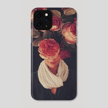 The Smile Of Roses - Phone Case by Frank  Moth