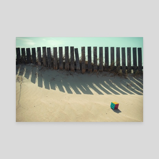 Rubik shading in the beach by josemanuelerre