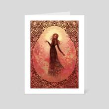 I Put A Spell On You - Art Card by Janaina Medeiros