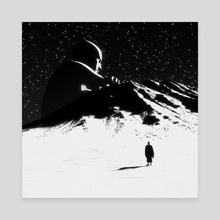 Alone, Together - Canvas by Dániel Taylor