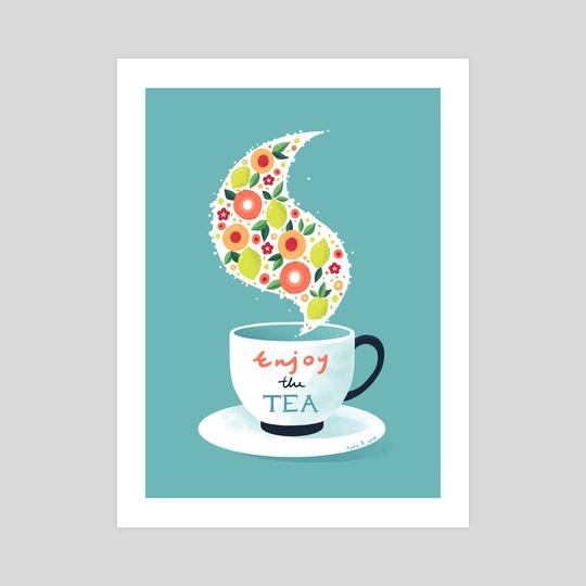 Enjoy the Tea by Indré Bankauskaité