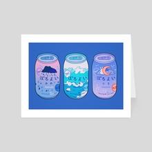 Poro Poro - Art Card by Meyoco