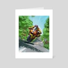 David Jefferies - Art Card by Rich Lee