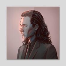 Loki - Acrylic by Rylen
