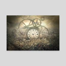 gears - Canvas by Even Liu