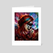 lady death - Art Card by Maxim G