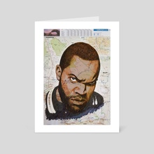 Cube from California - Art Card by Kyle Willis