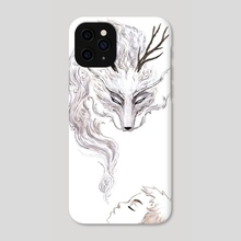 Spirit - Phone Case by Indré Bankauskaité
