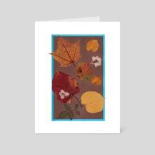 Herbarium 1 - Art Card by Sofia