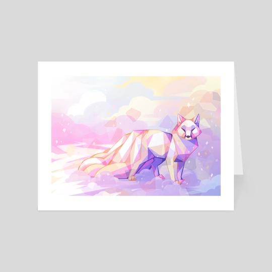 Crystal Kitsune by Nickol Martin