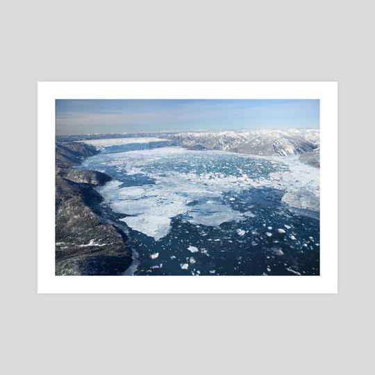 GLACIAL LAKE MISSOULA - ICE DAM by Jared Shear