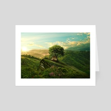 Green Space - Art Card by Arlo Magicman