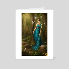 Persephone - Art Card by George Patsouras