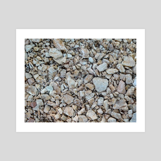 texture of stones outdoors by Marco Livolsi