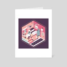 Lumi's House - Art Card by Nina