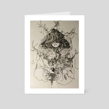 Final Inktober - Art Card by Aubrey
