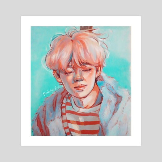 Jimin 'Melancholy' by Buhuhu Art