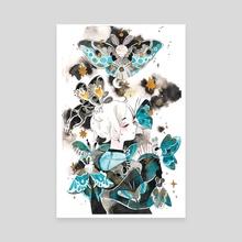 Moth - Canvas by koyamori