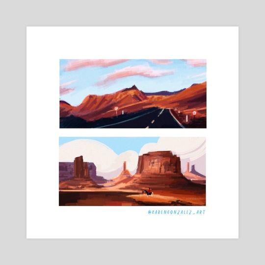 Desert by Karen González
