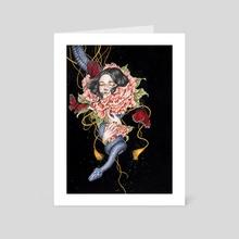 The secrets - Art Card by Phuong Nguyen