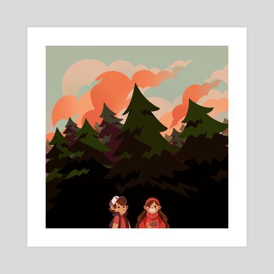 The Pines by Anush Banush