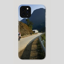 God made the world round so we would never be able to see too far down the road. - Isak Dinesen - Phone Case by Parag Phadnis