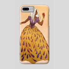 Snow White Reimagined - Phone Case by Christy Tortland