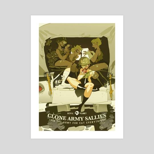 Clone army Sally by MinJung Kang