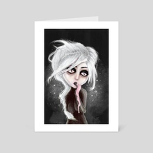 too dark to be sure - Art Card by Rouble Rust