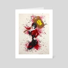 Harley Quinn  - Art Card by andrew garza