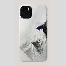 Mute mountains - Phone Case by Timi Honkanen