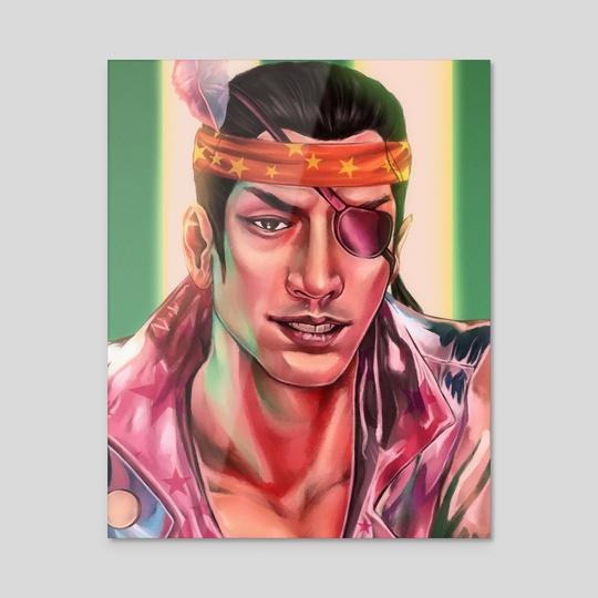 Goro Majima, portrait  by Mari S