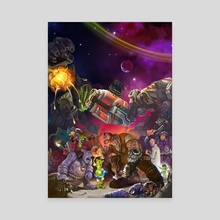 Heroes of the Storm - Canvas by wu licheng