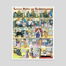 Little Nemo in Slumberland Tribute by M. C. Matz - Canvas by M. C.  Matz
