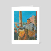 Churros for Sale - Art Card by Sibu Puthenveettil
