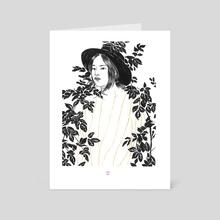 (2016) Inktober 9 - Art Card by Paulette  Jo