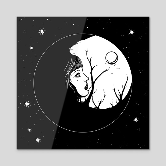 The Moon by Anima Somnia