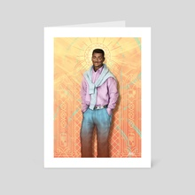 Carlton Banks - The Fresh Prince Of Bel Air - Art Card by Ladislas Chachignot