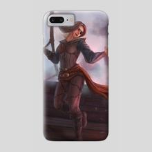 Pirate mage - Phone Case by Marina Smirnova