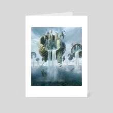 MtG - Island - Art Card by Anna Steinbauer