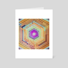 cube phase - Art Card by drewmadestuff