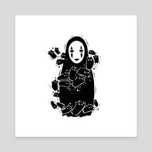 No Face - Canvas by Valio Art