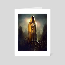 The King in Yellow - Art Card by Borja Pindado