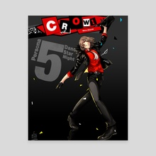 Persona 5 Dancing: Crow - Canvas by Sunny Ray