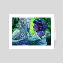 sick of losing soulmates - Art Card by fiovske