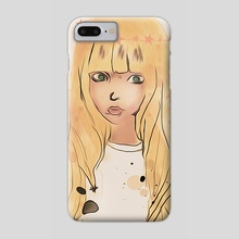 PlanetGirl - Phone Case by Zeren Dogan