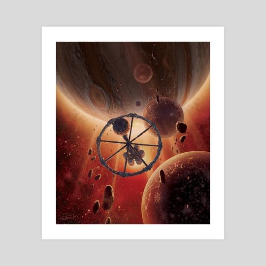 Rondevu with Jupiter by Jon Hrubesch