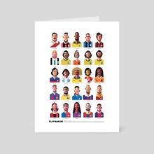 Playmakers - Art Card by Daniel Nyari